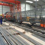 中國製造簡單的操作耐用和堅固的質量保證鋼筋鋼筋籠焊接機和鋼筋籠製作